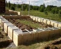 Виды фундаментов, используемых в загородном строительстве