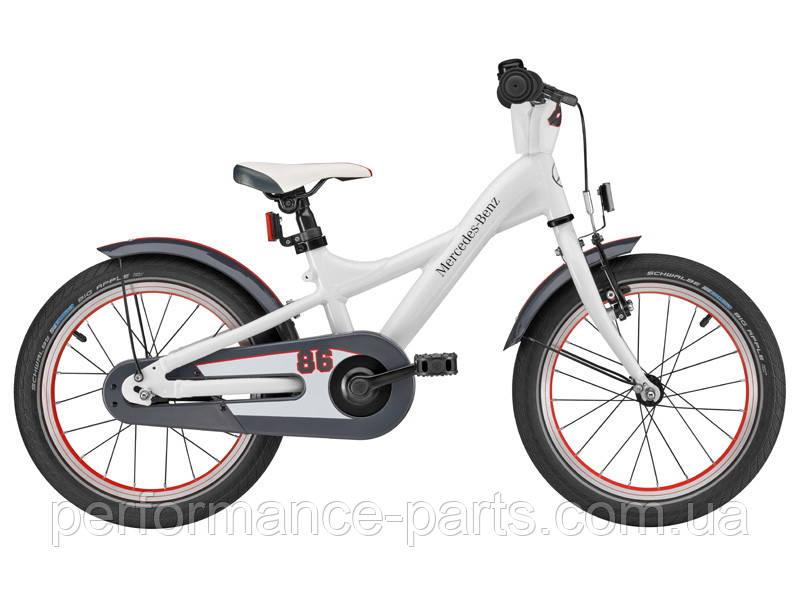 Детский велосипед Mercedes-Benz Children's Bike, White, артикул B66450066 Оригинал 100%