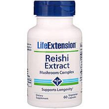 """Комплекс из экстракта грибов рейши Life Extension """"Reishi Extract Mushroom Complex"""" (60 капсул)"""