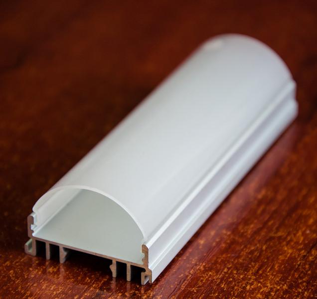 Алюминиевый профиль анодированный ЛСС  радиальный
