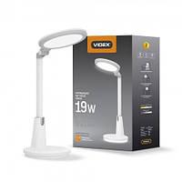LED лампа настольная VIDEX VL-TF10W 3000-5500K 220V
