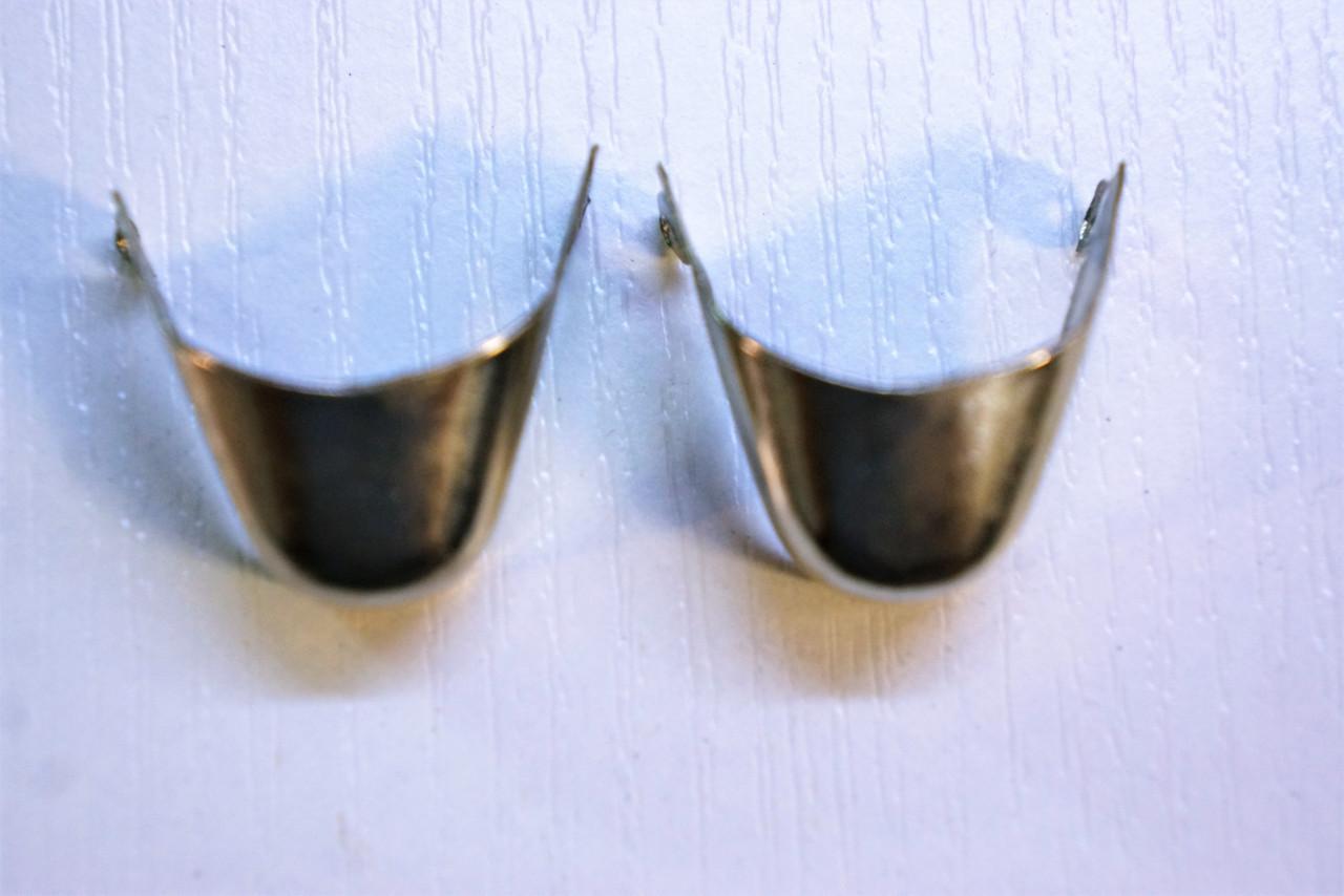 Носики медь (украшение на носок женской обуви) №028