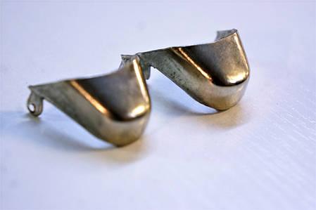 Носики медь (украшение на носок женской обуви) №028, фото 2