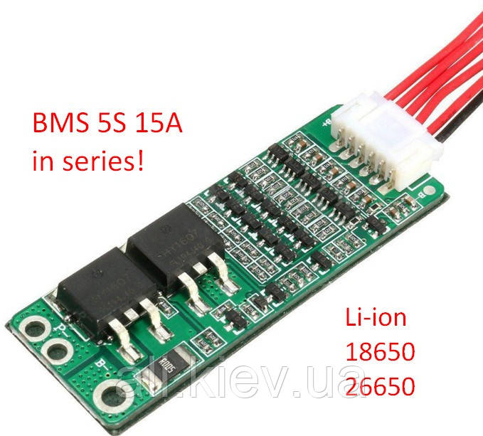 BMS  5S 30A контролер заряда для литиевых акб. БМС 5S