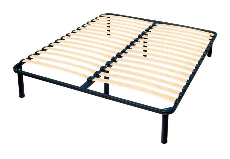 Каркас кровати (ламели) на ножках Ortoland двуспальный