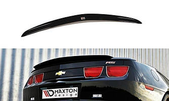 Накладка на спойлер козырек тюнинг Chevrolet Camaro 5 SS европейская версия