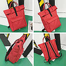 Рюкзак городской для ноутбука красный Mojoyce(AV171), фото 2