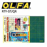 "Набор ""OLFA"" c линейкой-дюймы RTY-ST/QR (арт.03416)"