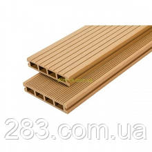 Террасная доска из ДПК WoodMart коллекция Premium 140х25х2200мм/3000мм, цвет Дуб