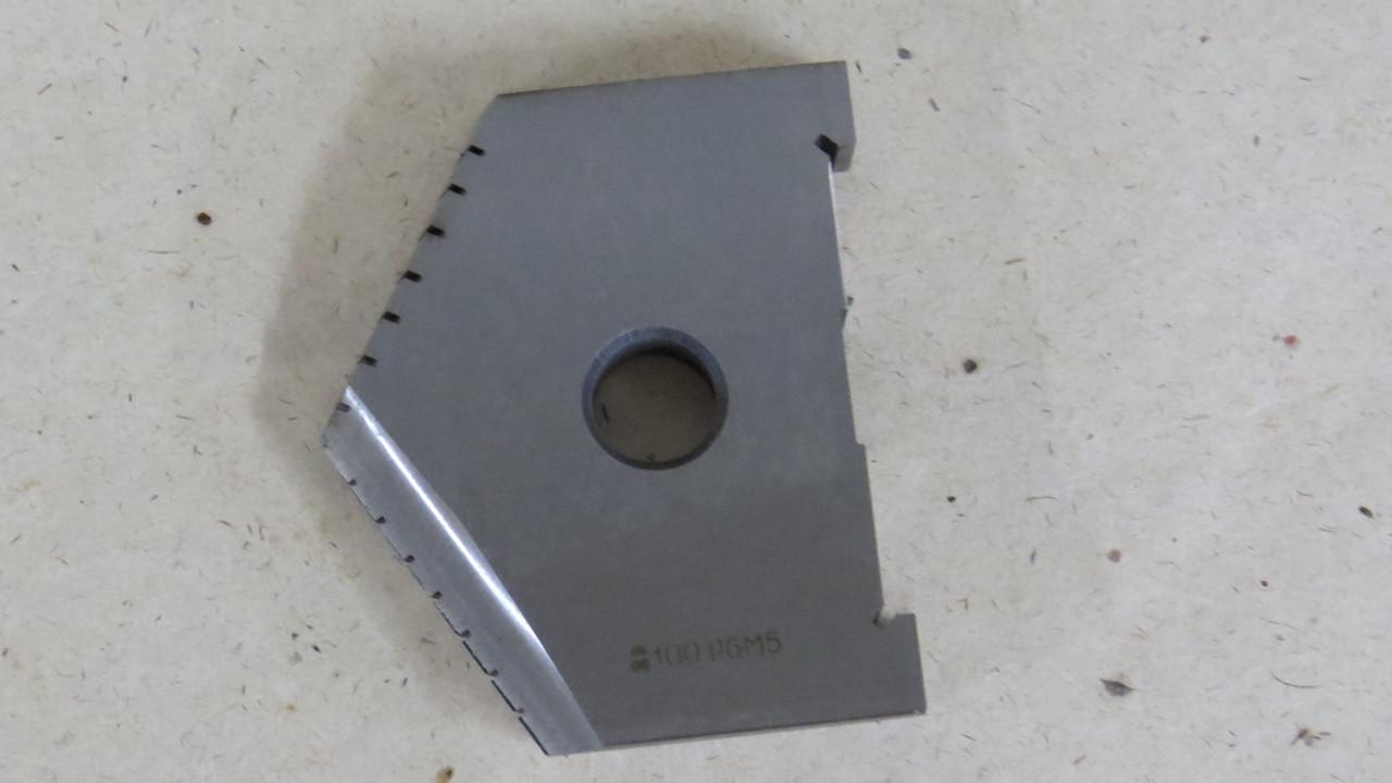 Пластина для перового свердла Ø100 Р6М5 ОРША (2000-4001-1265)