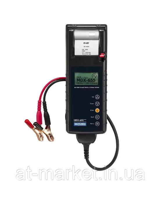 Тестер аккумуляторных батарей и систем Start-Stop Midtronics MDX-655P