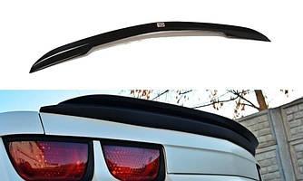 Накладка на спойлер козырек тюнинг Chevrolet Camaro 5 SS американская версия