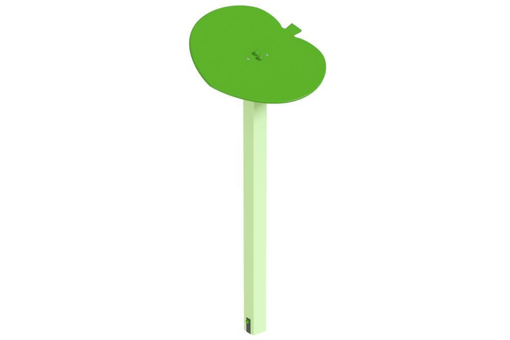 Навес одинарный Листик дерево. КД234