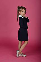 Модная школьная форма 2019. Нарядное школьное платье с отстегивающимся воротником. Rolly