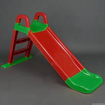 Детская горка (Красно-зеленая), спуск 140  см. Долони, фото 3