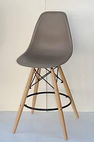 Полубарный стул Nik Eames, кофейный