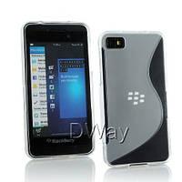 Силиконовый чехол Duotone для BlackBerry Z10 прозрачный