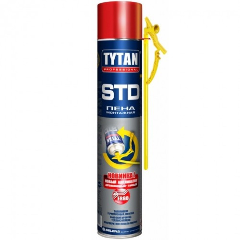 TYTAN O2 ERGO Монтажно-Уплотнительная пена (монтаж.)
