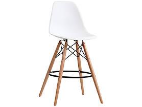 Полубарный стул Nik Eames, белый