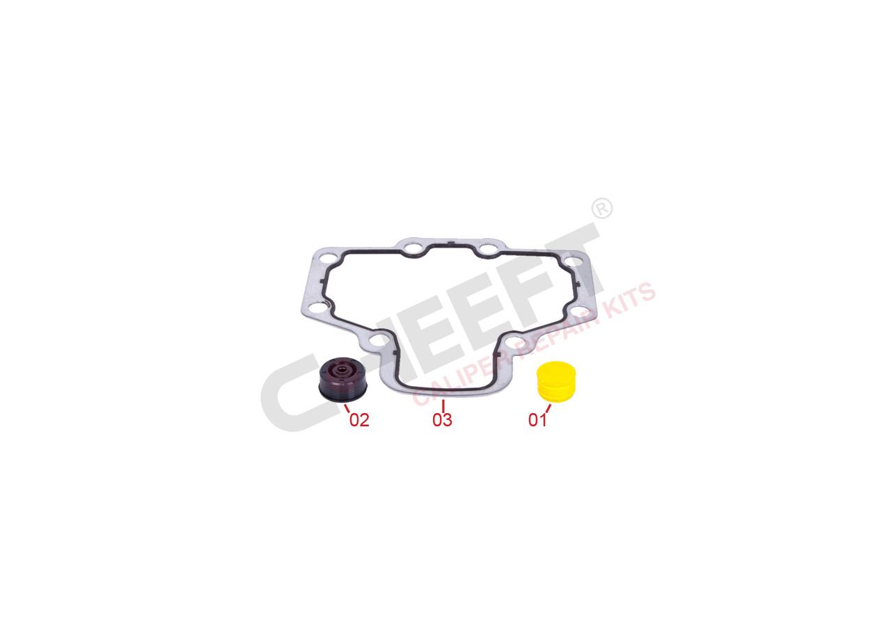 Прокладка супорта резино-металева, сальник, заглушка Wabco код: CFT3150