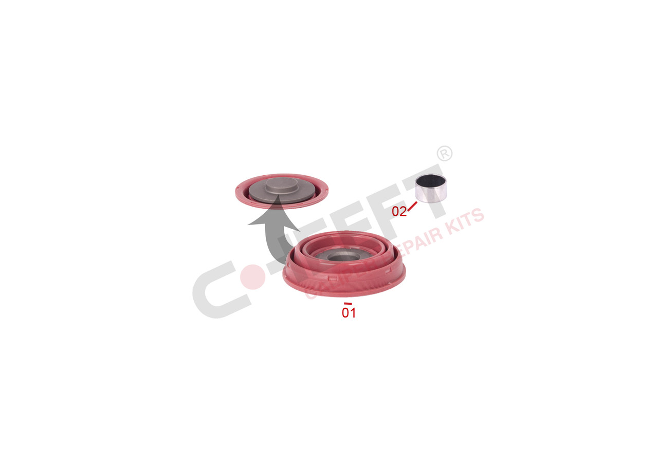 Ремонтний комплект супорту KNORR код: CFT1001