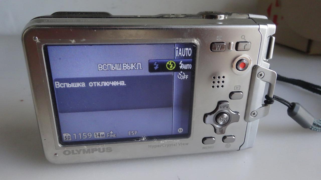 Фотоаппарат OLYMPUS Tough-8010 (водостойкий ударопрочный) HD-видео