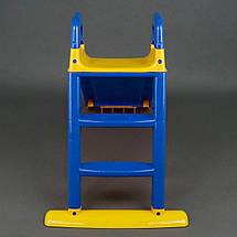 Детская горка (Сине-желтая), спуск 140 см., фото 3