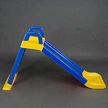 Дитяча гірка Долони 140 см. (0140/03) Синьо-жовта, фото 3