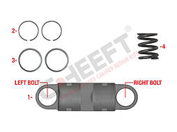Ремонтний комплект супорту HALDEX код: CFT4045