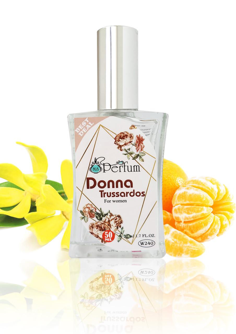 Духи женские Donna Trussardi качественный парфюм 50 мл