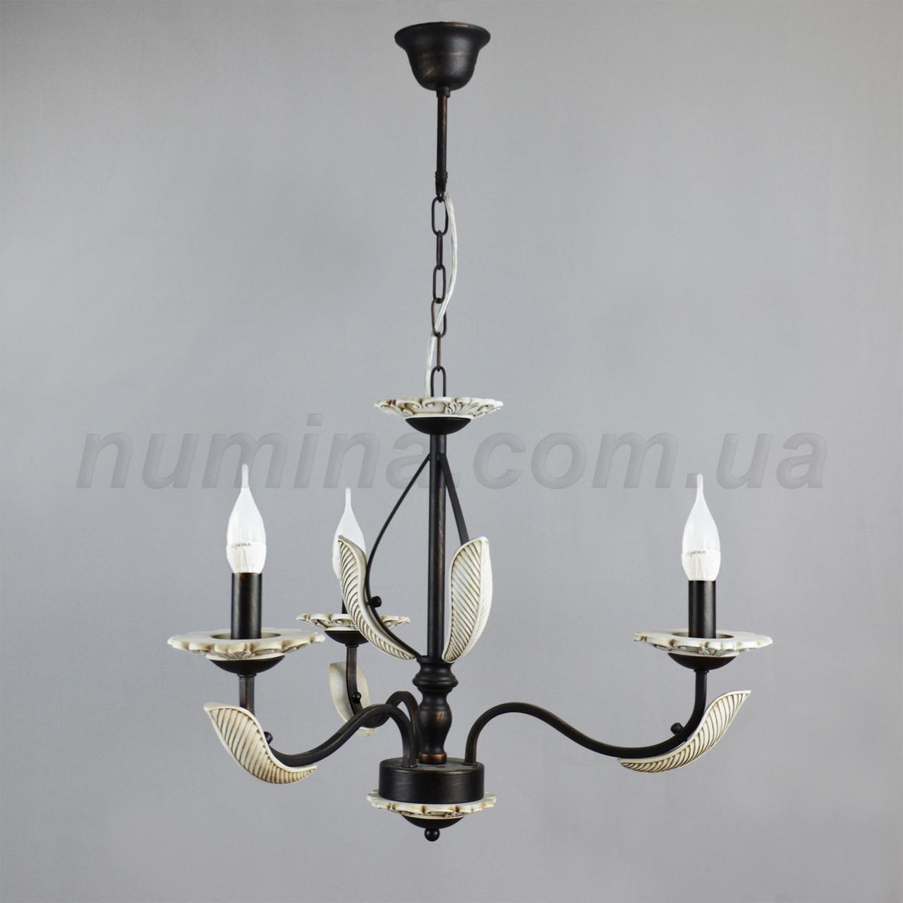 Люстра подвесная на три лампы 49-TC 1623/3