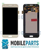 Дисплей для Samsung J500 Galaxy J5 | J500F | J500M с сенсором Яркость регулируется (Золото) TFT подсветка ориг