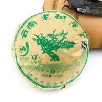 Чай Шен Пуэр блин (зеленый) 100 гр