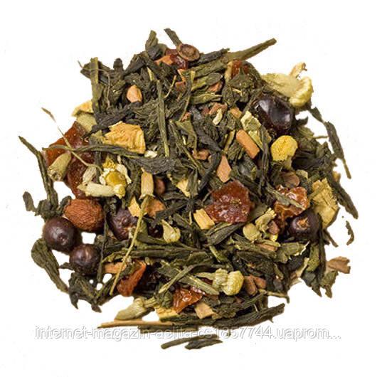 """Чай зелений з добавками """"Силует"""" 500 г"""