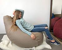 Кресло Груша, мебельная ткань Рогожка