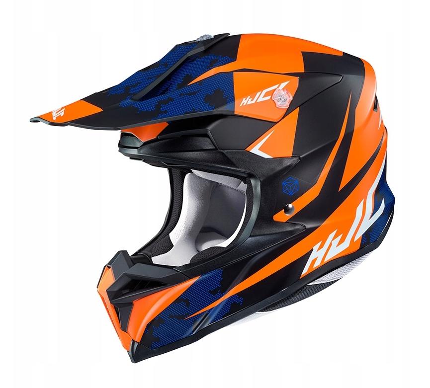 Шлем кроссовый Hjc i50 Tona (Orange)