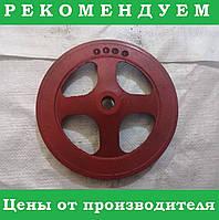 Шкив компрессора ЗиЛ-130 НОВЫЙ! (не разборной)