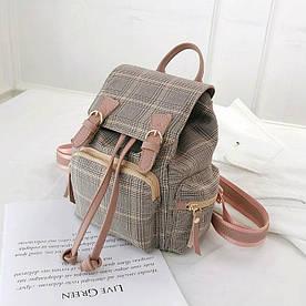 Небольшой твидовый рюкзак