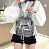 Небольшой твидовый рюкзак, фото 8