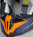 Шлем кроссовый Hjc i50 Tona (Orange), фото 6
