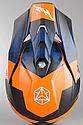 Шлем кроссовый Hjc i50 Tona (Orange), фото 8