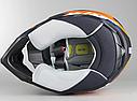 Шлем кроссовый Hjc i50 Tona (Orange), фото 9