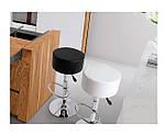 Барный стул Пина черный,  кожзам, фото 4