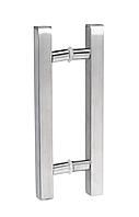 Ручка-скоба для двери  из нержавеющей стали Lidya квадрат диам.25 мм / 300мм