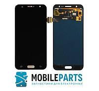 Дисплей для Samsung J500 Galaxy J5 | J500F | J500M с сенсорным стеклом Яркость не регулируется (Черный) TFT