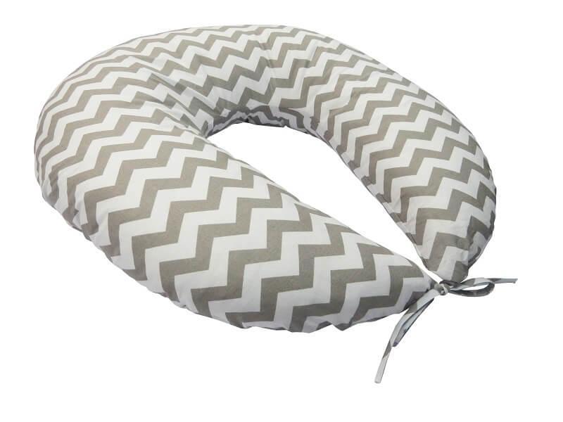 Подушка для кормления KIDIGO Зигзаг (с наволочкой). КД354