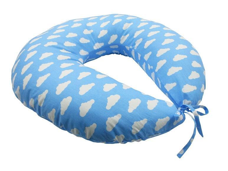 Подушка для кормления KIDIGO Тучки (с наволочкой). КД356