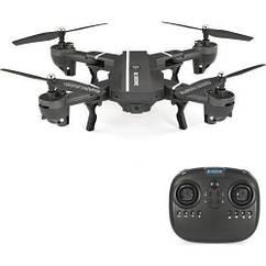 Квадрокоптер RC DRONE c WiFi камерой селфи-дрон складной вертолет + подарок, Акция!