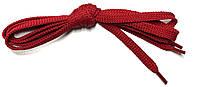 Шнурки Красный плоские 120см 7мм Kiwi, фото 1