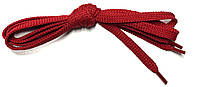 Шнурки Красный плоские 150см 7мм Kiwi, фото 1